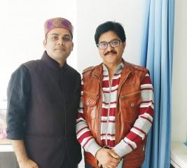 Dr. Navin with Dr. Ravi Verma