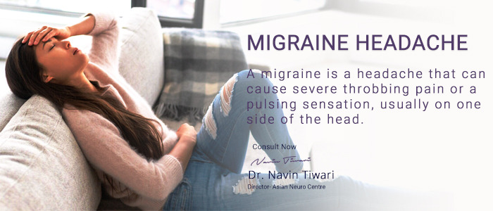 Best treatment of Migraine Headache in Indore