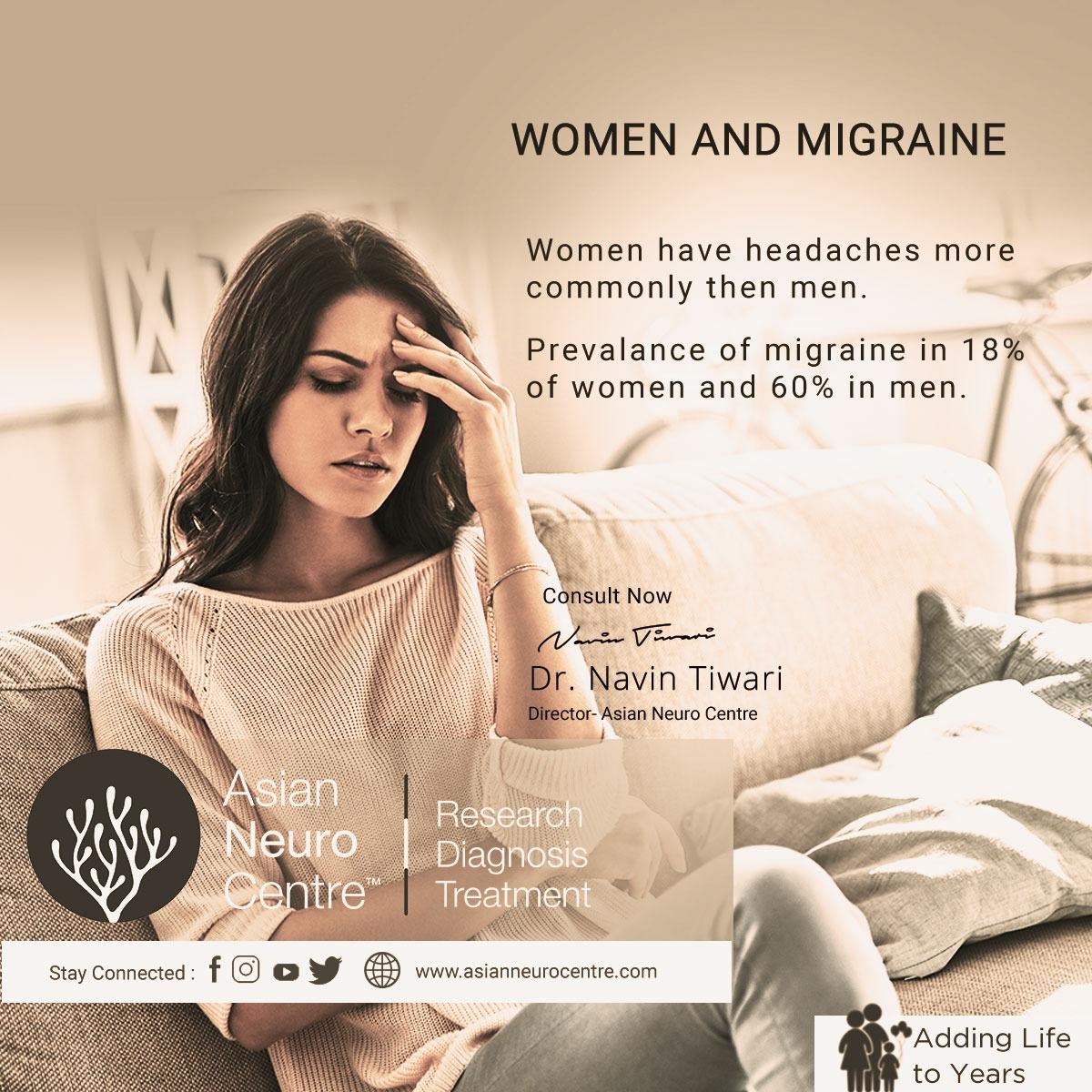 Best Migraine Treatment For Women Indore - Dr. Navin Tiwari